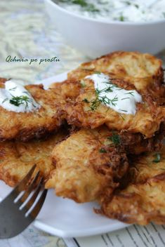Sauerkraut, Meals Without Meat, Polish Recipes, Polish Food, Tandoori Chicken, Food And Drink, Appetizers, Vegetarian, Snacks