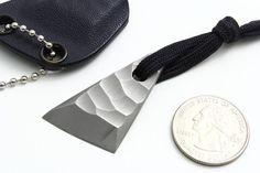 custom knives | Custom Neck Knife-by-Jens-Anso - Arizona Custom Knives - Custom ...