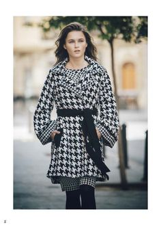 Rosalita Autumn-Winter 2015/16 by www.rosalitamcgee... #newcollection #nuevacolección #invernorosalitamcgee #otoñorosalitamcgee #rosalitamcgeewinter #rosalitamcgeeautumn #winterdress #vestidoinvierno #abrigoblancoynegro #patadegallo #coat #blackandwhite #catalogo #diseñooriginalMcGee - Tienda Online