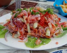French Polynesia's version of ceviche (or slant on Hawaiian poke) is the tangy, colorful, and coco-nutty raw fish salad called poisson cru.