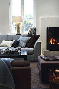 Cosy modern Scandinavian lounge