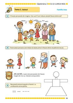 Clasa Pregătitoare : Comunicare în limba română pentru clasa pregătitoare. Partea I Educational Activities, Kids, Studying, Young Children, Boys, Teaching Materials, Children, Boy Babies