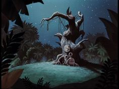 Animation Backgrounds: PETER PAN
