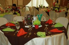 Ysaac's Hansel and Gretel Themed Party – Table Centerpiece