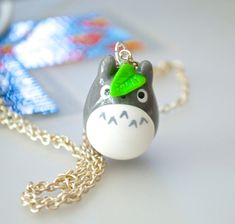 Kawaii Cute Totoro Polymer Clay Charm by PICKYOURSTAR on Etsy, $3.75