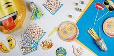 """Addobbi e decorazioni per feste a tema """"Emoji™"""" su VegaooParty"""