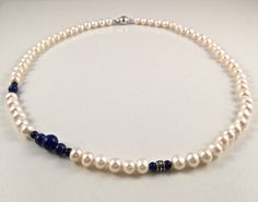 Freshwater Pearl Necklace by JiaojiaosPearls on Etsy