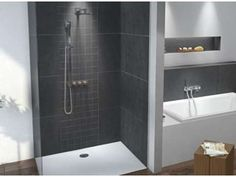 1000 images about badkamer on pinterest interieur construction and modern for Modern douche bad