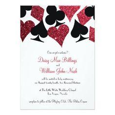 #weddinginvitation #weddinginvitations (Red Glitter Destiny Las Vegas Wedding Invitation) #Black #Casino #Casual #Chapel #Club #CourthouseWedding #Destination #Destiny #Diamond #Elegant #Elope #Elopement #FauxGlitter #Formal #Glitter #Heart #Hearts #LasVegas #Love #Marriage #Matching #Nevada #Occasions #Peace #Poker #Red #RedAndBlack #Spade #Suite #Suits #Theme #Vegas #VegasWedding #Wedding #White #Witness is available on Custom Unique Wedding Invitations  store  http://ift.tt/2aA4aOH
