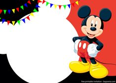If you are into something cute then you need to check our cute Mickey Mouse invitation template. All templates are free for personal uses only, which means that you can use it as many as you want but not for commercial matters. Mickey Mouse has been Minnie Mouse Birthday Invitations, Mickey Mouse Birthday Invitations, Mickey Mouse Clubhouse Birthday, Free Printable Birthday Invitations, Mickey Birthday, Mickey Party, Invitations Online, Elmo Party, Personalized Invitations