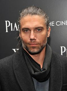 "Anson Mount, ""The contemporary actor who most embodies my beloved Lestat for me is Anson Mount in ""Hell On Wheels."" That's Lestat peering out from those eyes and with all that long tangled hair."" Anne Rice"