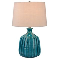 "Found it at AllModern - Springfield Ribbed 24"" Table Lamp"