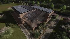 Students from the Netherlands are building a recyclable house to compete in Solar Decathlon 2017.