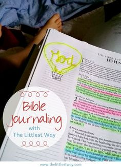 If you are looking for some slick, put together Bible Journaling, you're in the wrong place. I'm a beginner, a word weaver practicing the art of Bible journaling.