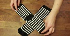 Lifehack - Ich lege schon immer die Socken falsch zusammen! Warum hat mir das keiner gezeigt?