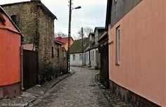 Old part of Drezdenko, Poland.