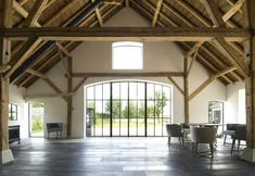 Residence with Classic ISO Steel Windows and Doors Farmhouse Remodel, Farmhouse Homes, Modern Farmhouse, Farmhouse Decor, Steel Windows, Windows And Doors, Different House Styles, Warehouse Design, Barn Renovation
