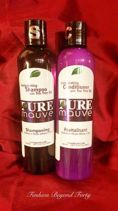 Pure Mauve Shampoo and Conditioner by Carapex is a Dream Come True | Fashion Beyond Forty: Pure Mauve Shampoo and Conditioner by Carapex is a Dream Come True