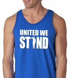 b47fa63aaf094 united we stand saluting men s tank top - 4th of july - patriotic gift