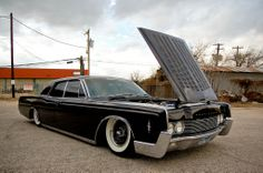 Bagged 1966 Lincoln Continental
