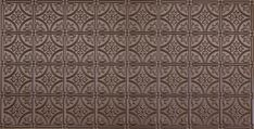 Pattern - All Colors - Faux Tin Ceiling Tile Pattern Motifs Art Nouveau, Tile Steps, Faux Tin Ceiling Tiles, Office Ceiling, Tin Walls, Pub Decor, Ceiling Panels, Metal Panels, Bronze