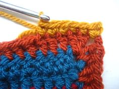 Crocheting blanket edgings is one of my most favourite things, I love the challenge of choosing exactly the right colours and designing exactly the right sort of finish to complete the blanket. This edging was designed specifically for the Cosy. Crochet Blanket Border, Crochet Blanket Patterns, Crochet Blankets, Scrap Yarn Crochet, Knit Crochet, Crochet Flower Patterns, Crochet Flowers, Hobbies And Crafts, Knitting Projects