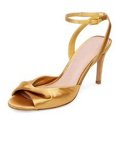 1f43eeb6783c1 Women s Pumps Sandals Stiletto Heel Silk Like Satin Ruffles No Wedding Shoes