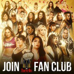 Wrestling, Club, Fan, Heels, Movies, Movie Posters, Divas, Lucha Libre, Heel