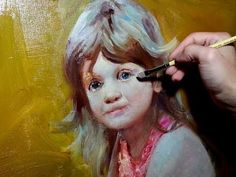 HOW TO PAINT KIDS, PART 1. BY SERGEY GUSEV. - oil painting l- YouTube