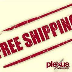 Free shipping on everything! Ends tomorrow night at midnight! www.plexusslim.com/dmedwards