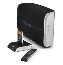 Altec Lansing M812 Octiv Air Wireless Speaker System with Dock for iPod (Black)