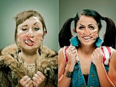 Tale of the tape: Albuquerque photographer uses Scotch tape on faces to capture wildly expressive portrait series