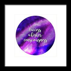 Crown Chakra - Higher consciousness, State of pure being. Framed Prints, Canvas Prints, Higher Consciousness, Cornelius, Impressionist Paintings, Crown Chakra, Pure Products, Art, Art Background