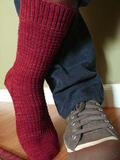 NobleKnits.com - Knitspot Long John Sock Knitting Pattern