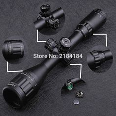 Tactical 3-9X40 AO Riflescope Optical Sight Full Size Mil Dot Red Green Blue llluminate Hunting Rifle Scope (32671918843)  SEE MORE  #SuperDeals