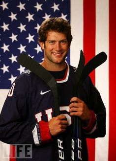 St. Louis Blues forward David Backes Backes a goal and a great assist for team USA get his shirt at http://stores.ebay.com/dklane1