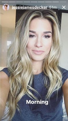 Think Your Hair Can't Be Tamed? Everyone wants to have great looking hair, as a good set of locks can completely transform a person's appearance. Jessie James, Jesse James Decker Hair, Kylie Jenner, Kim Kardashian, Kardashian Kollection, Corte Y Color, Hair Dos, Balayage Hair, Pretty Hairstyles