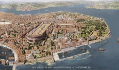 Constantinople, the capital of the eastern roman empire