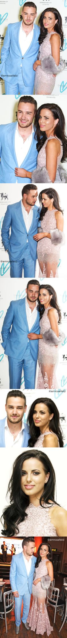 Liam Payne + Sophia Smith | at The Great Gatsby Ball for Trekstock 4.16.15 |