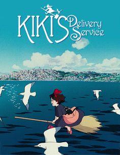 Les affiches de Miyazaki en animations