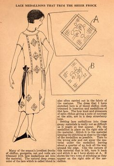 The Midvale Cottage Post: Sew a 1920s Wardrobe in a Weekend Using Ruth's Home Sewing Tips from the 1920s
