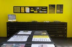 Nankin Lab Exhibition by Pau Alekumsalaam, via Behance
