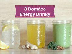 Ako si vyrobiť domáci energetický nápoj bez kofeínu a cukru?   Chillin.sk