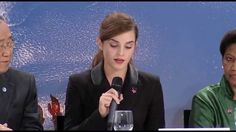 Emma Watson Gives Another Moving Speech Encouraging Global Leaders To Join #HeForShe Campaign For Gender Equality
