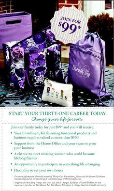 #thirtyone Fall Enrollment Kit