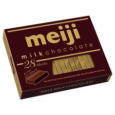 Meiji Milk chocolate. Japan 明治ミルクチョコレート