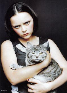 Christina Ricci - You resemble your cat