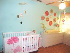 ikea malm in the nursery Diy Nursery Decor, Wood Nursery, Modern Bedroom Decor, Cute Room Decor, Nursery Design, Baby Room Decor, Nursery Room, Girl Nursery, Nursery Ideas