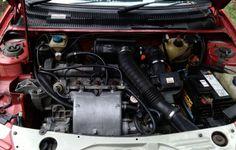 INFO GUIDE: 1987 - 1990 Peugeot 205 GTI Phase 1.5 (1.9l) | classicregister Renault 5 Gt Turbo, Final Drive, Engine Block, Belt Drive, Engine Types, Manual Transmission, The Struts, Peugeot