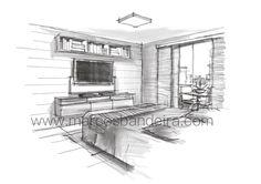 Arquitetura e Desenho: Projeto de arquitetura de interiores com iPad
